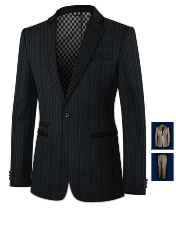 Herrenmode Anz�ge 110 with 1 Button, Single Breasted