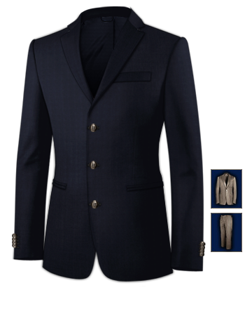 Herrenmode Anz�ge 30 with 3 Buttons, Single Breasted