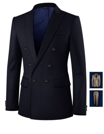 Ma��anzug T�rkei with 6 Buttons, Double Breasted (1 To Close)