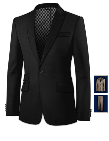 Oxford Style Ma��anz�ge with 1 Button, Single Breasted