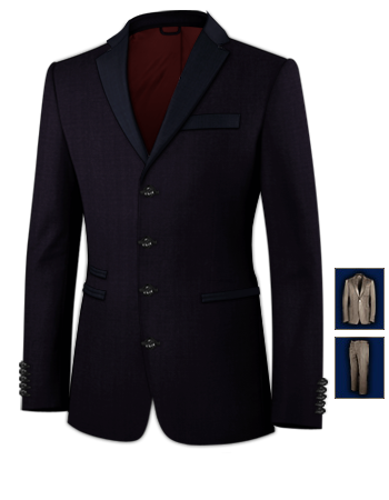 Ma��anzug Tailor with 4 Buttons, Single Breasted