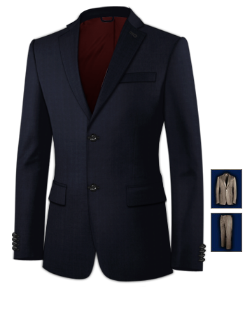 Ma��anzug Online Bewertung with 2 Buttons, Single Breasted