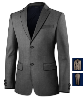 Massanzug Bern with 2 Buttons, Single Breasted