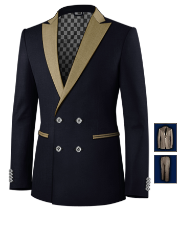 Damenmode Anz�ge Und Kombinationen with 4 Buttons,double Breasted (2 To Close)