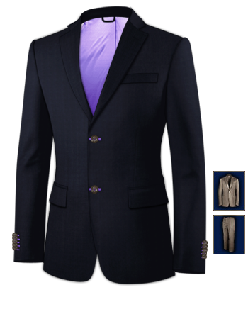Herrenmode Anz�ge 28 with 2 Buttons, Single Breasted