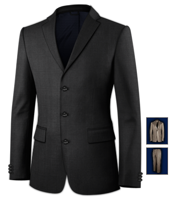 Herrenmode Anz�ge 94 Einreiher with 3 Buttons, Single Breasted