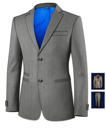 Damenmode Anz�ge Und Kombinationen 40 Kost�m with 2 Buttons, Single Breasted