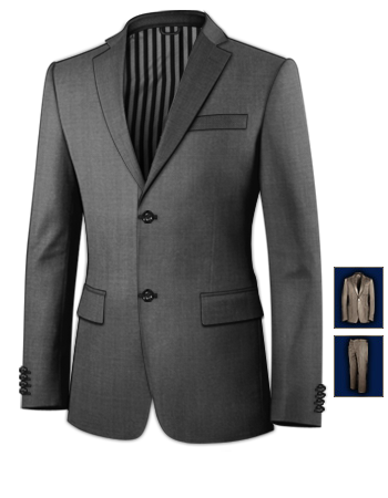 Ma��anzug M�nster Angebot with 2 Buttons, Single Breasted
