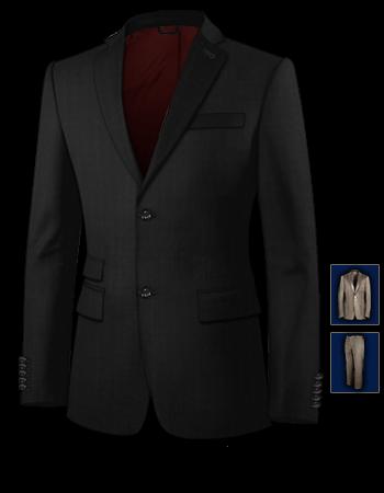 Klassischer Anzug Kaufen with 2 Buttons, Single Breasted