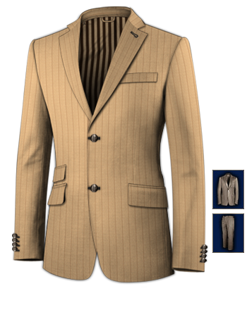 Herrenanzug Wei�� Herrenmode with 2 Buttons, Single Breasted