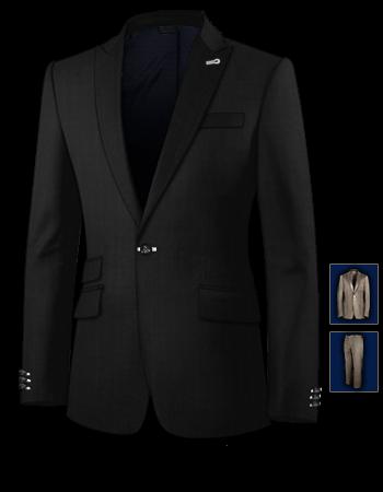 Anzug Kaufen Worauf Achten with 1 Button, Single Breasted