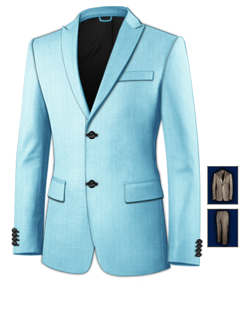 Made To Measure Suits with 2 Buttons, Single Breasted