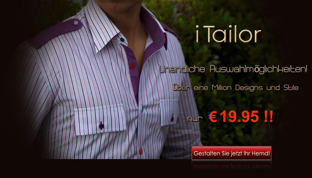 Maßgeschneiderte Hemden